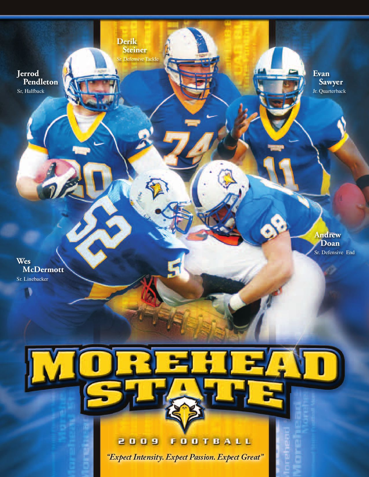 best service 83216 f0b8a 2009 Morehead State Football Media Guide by Drew Dickerson ...