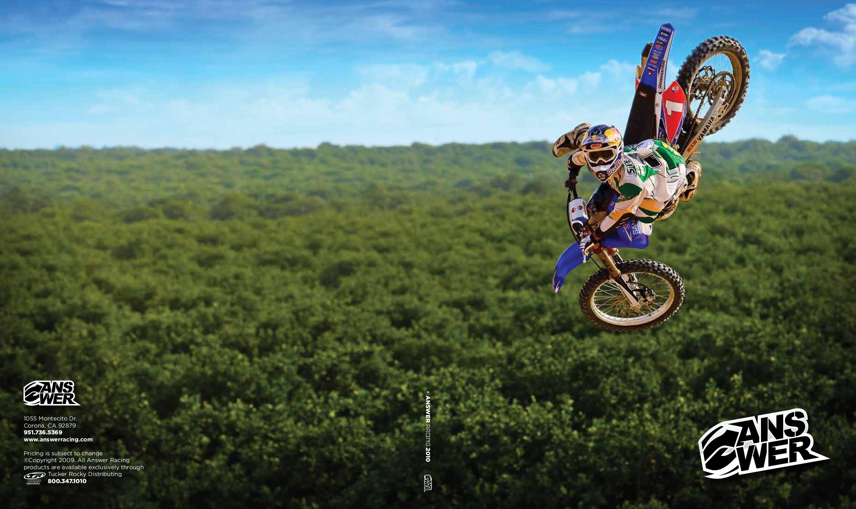 ANSWER SYNC MX GLOVE DIRT BIKE ATV MOTOCROSS RED KIDS LG