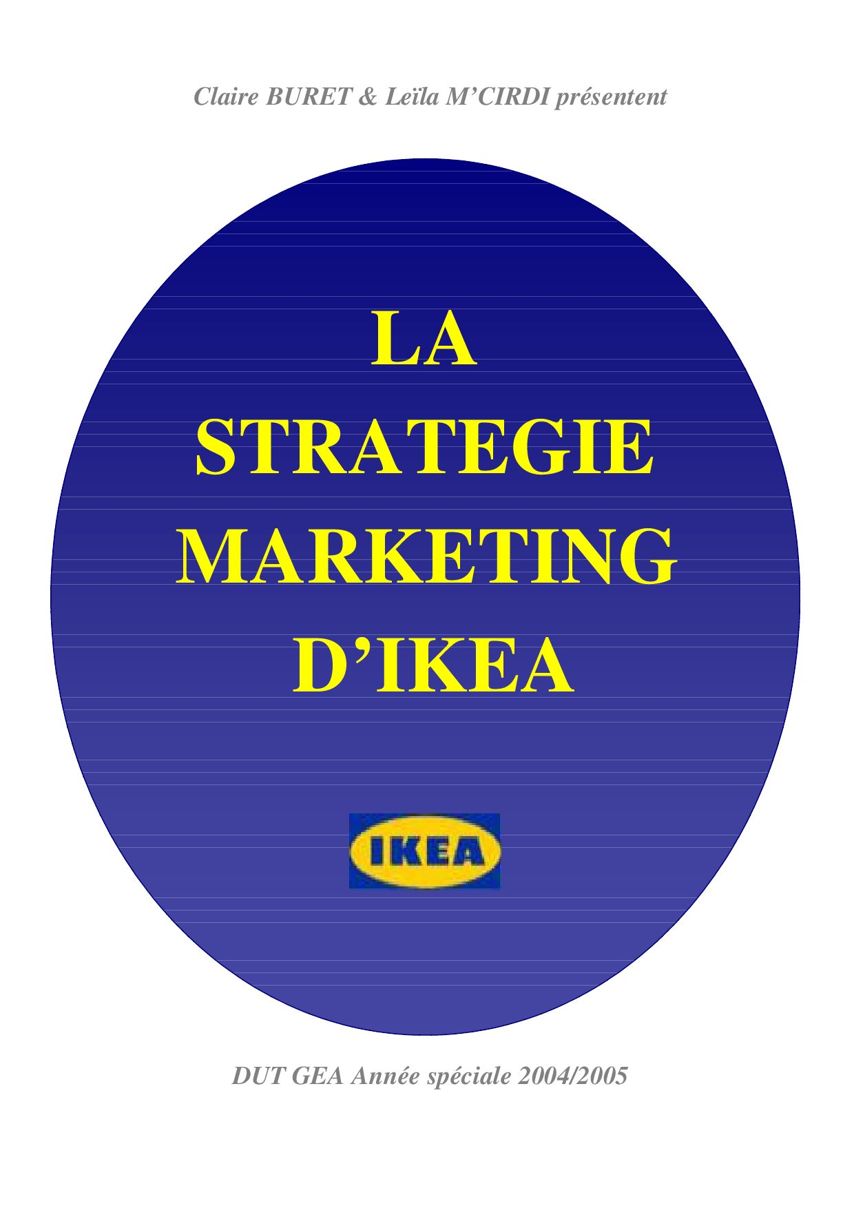 La Strategie Marketing D Ikea By Regis Vansnick Issuu