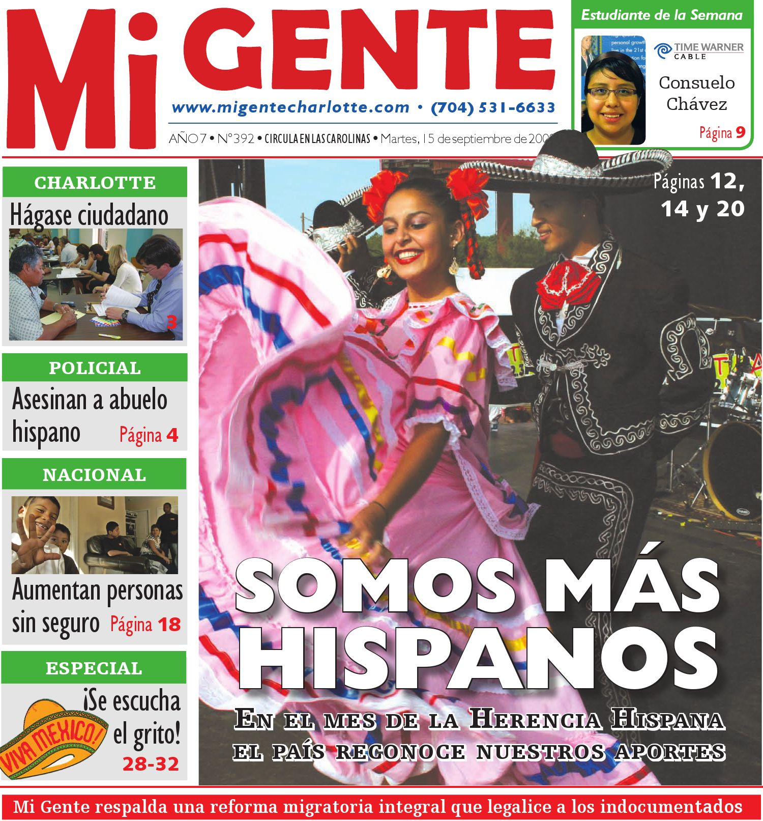 Mi Gente Publishing by DIEGO DUARTE - issuu