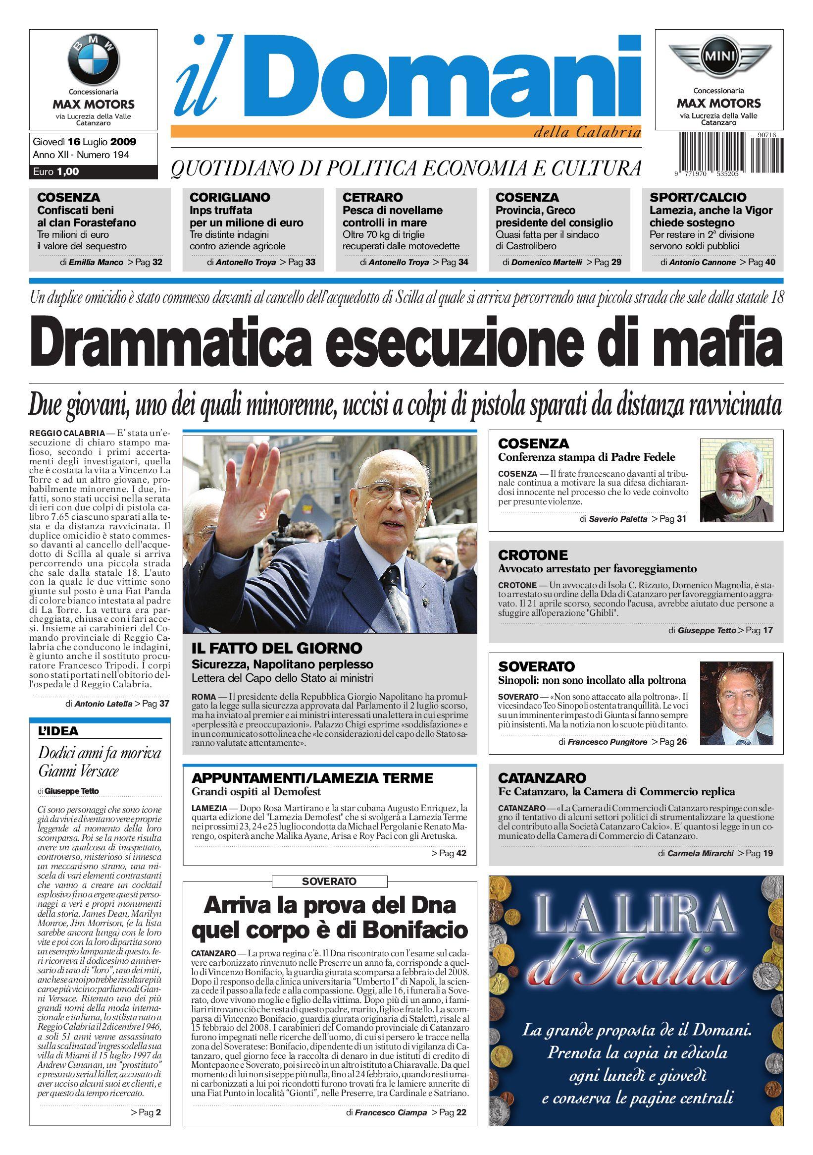 289a6e23db ildomani by T&P Editori il Domani - issuu
