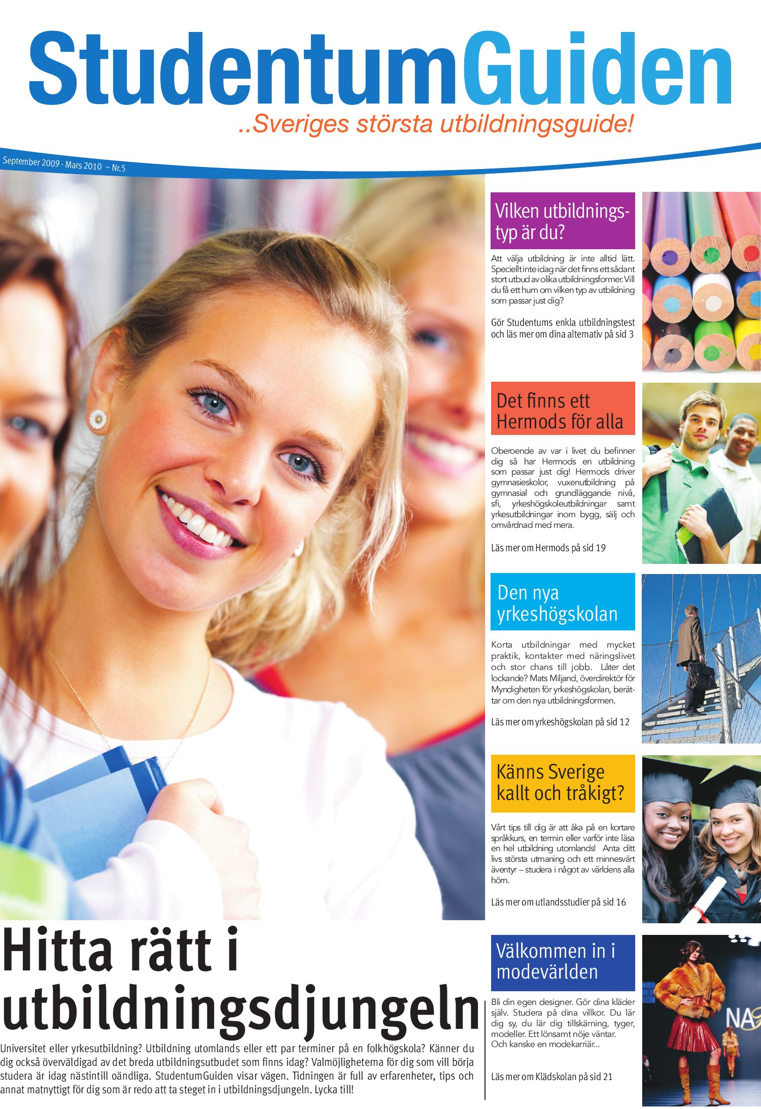 2746d5d653b1 Studentumguiden HT09 by Studentum.se - issuu