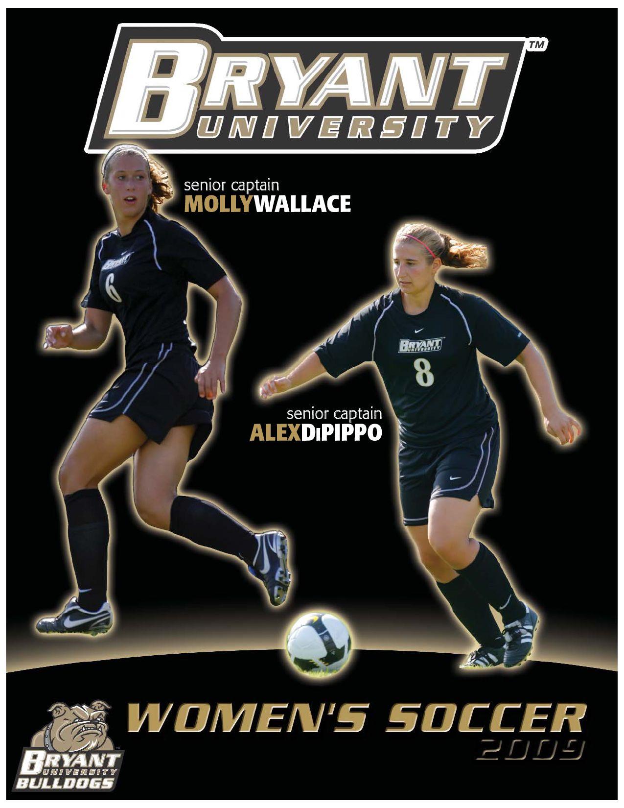 wholesale dealer 5e1c6 71ddc 2009 Bryant University Women's Soccer Media Guide by Allie ...