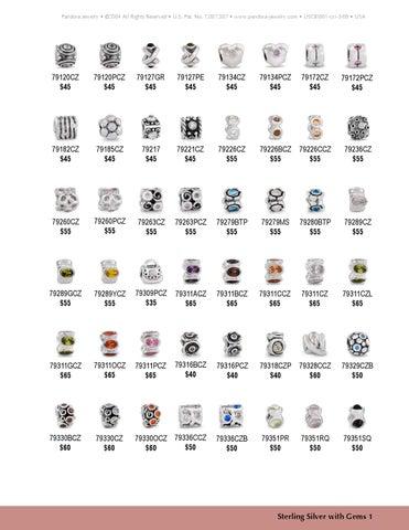 Retired Pandora Jewelry
