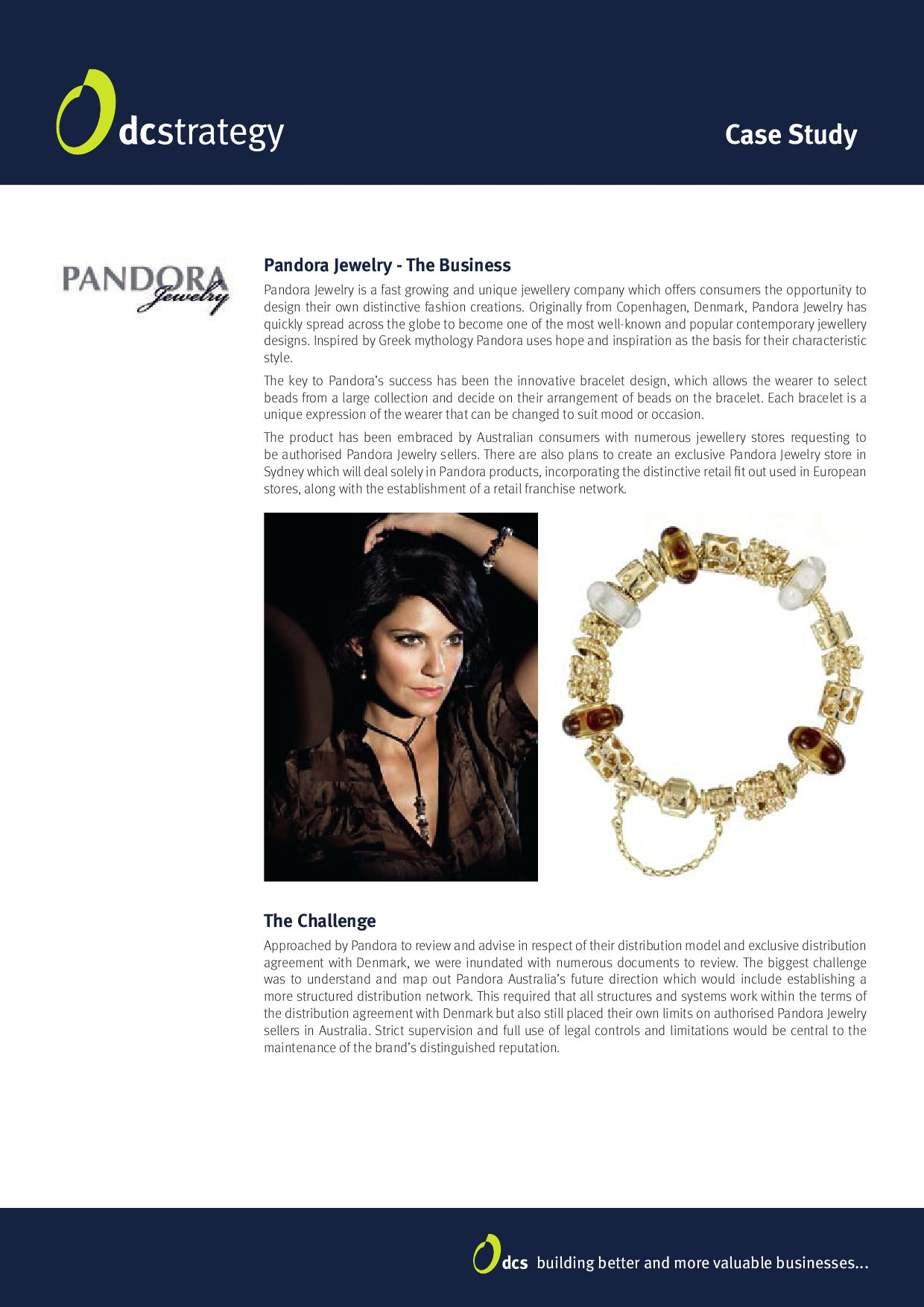 pandora case study Pandora jewelry tapped us to tell the stories of eight incredible women they  chose to honor for their inaugural hearts of today program.