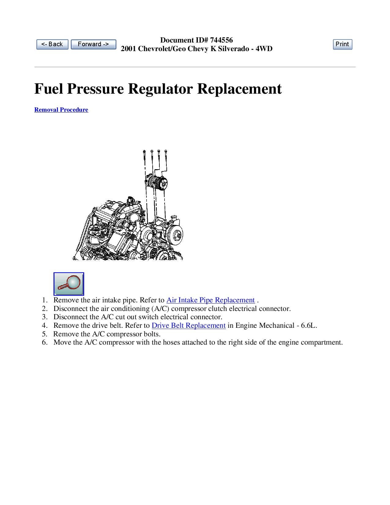 Duramax Fuel Pressure Regulator Valve Replacement Guide By Diesel To 7 Pole Wiring Diagram Bombers Issuu