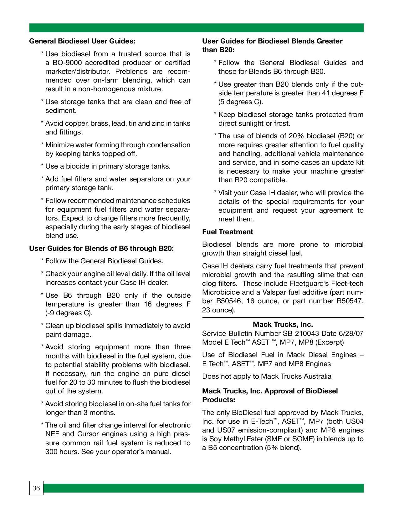Changes in Diesel Fuel by Diesel Bombers - issuu