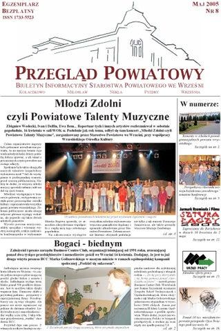 Przegląd Powiatowy Nr 8 Maj 2005 By Starostwo Powiatowe We