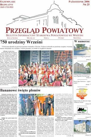 Przegląd Powiatowy Nr 25 Październik 2006 By Starostwo Powiatowe