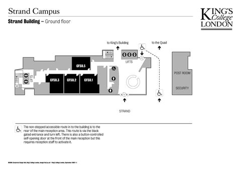 Kings College London Map.Strand Building Internal Map Level 0 By King S College London Issuu