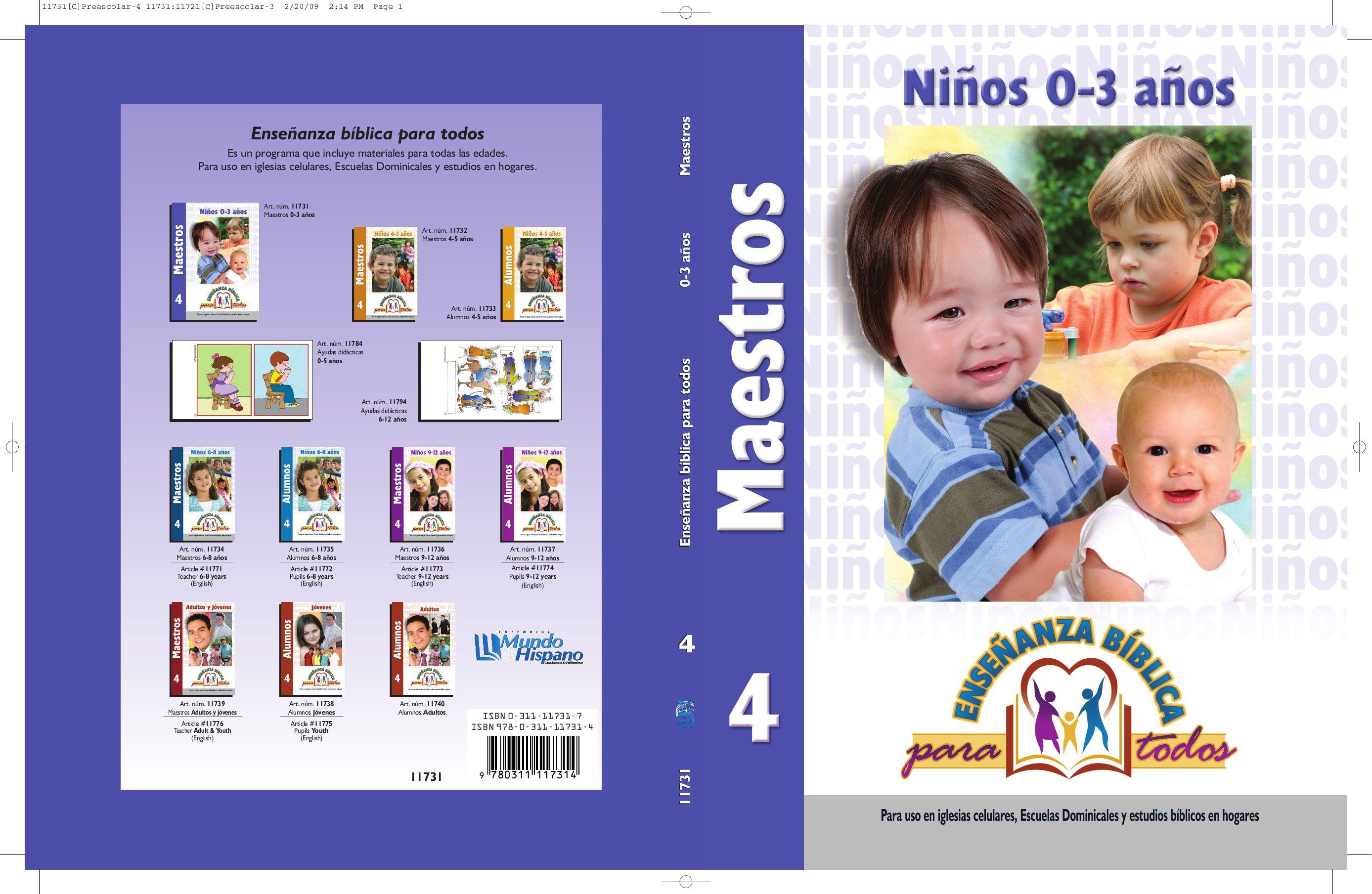 Ebpt Maestros De Ninos 0 A 3 By Editorial Mundo Hispano Issuu