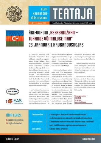 eacf8231ee1 Eesti Kaubandus-Tööstuskoja aastaraamat 2010 by Eesti Kaubandus ...
