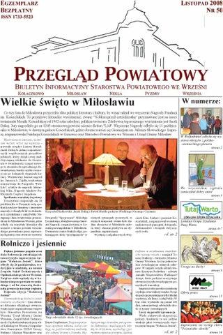 Przegląd Powiatowy Nr 50 Listopad 2008 By Starostwo