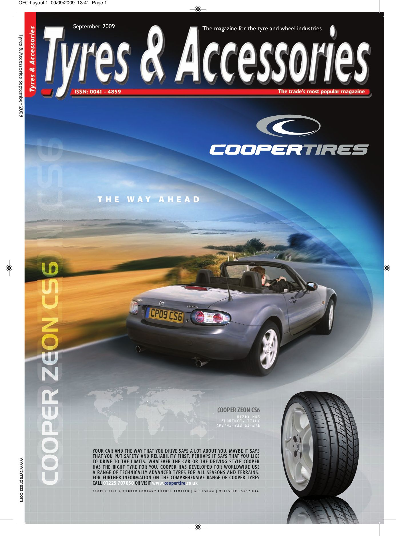 Tyres Amp Accessories September 2009 By Tyres Industry Publications Ltd Issuu