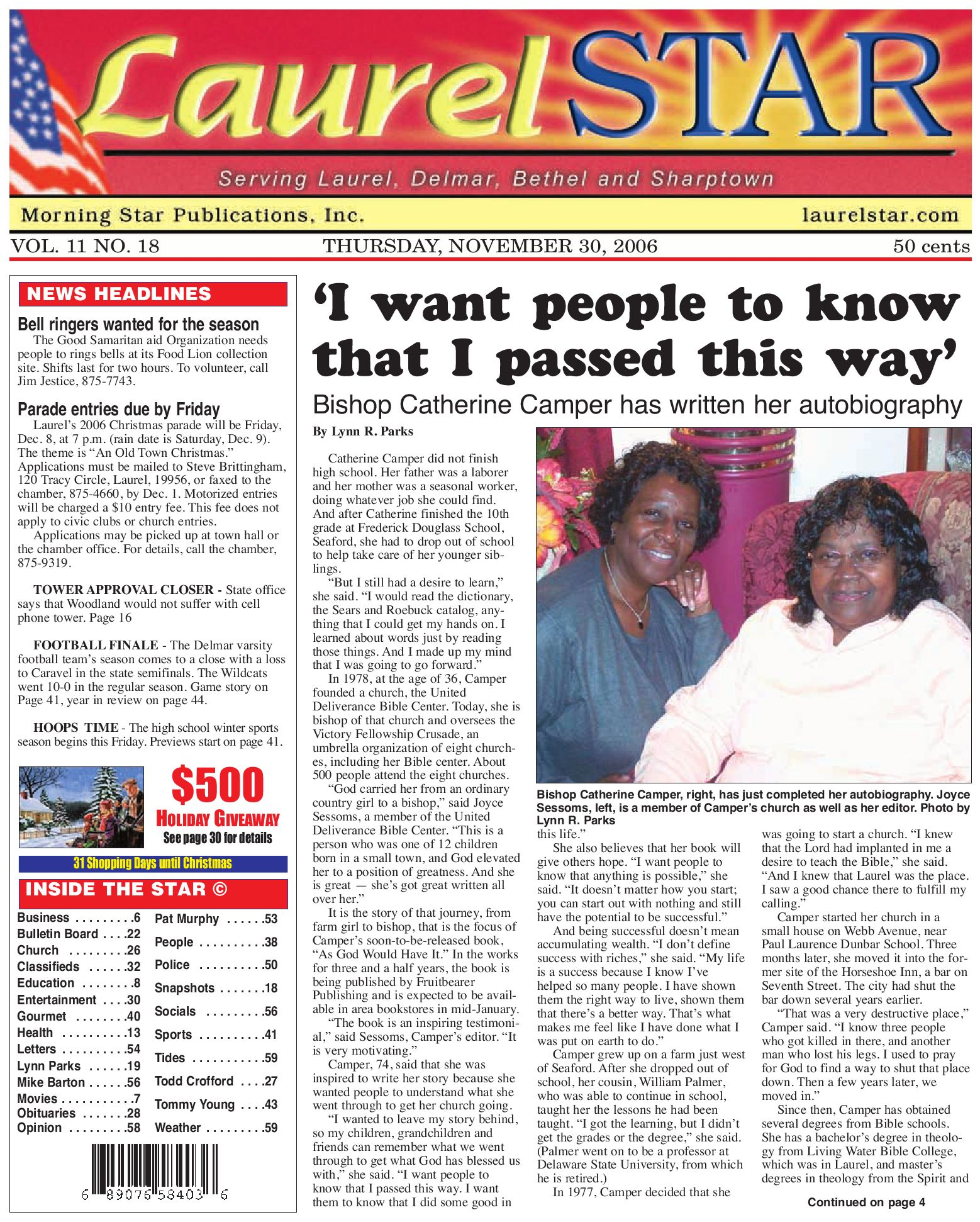 november 30 2006 by morning star publications issuu