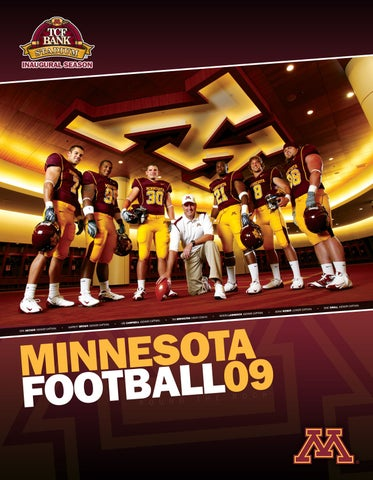 c4c989da 2009 Minnesota Football Recruiting Guide by University of Minnesota ...
