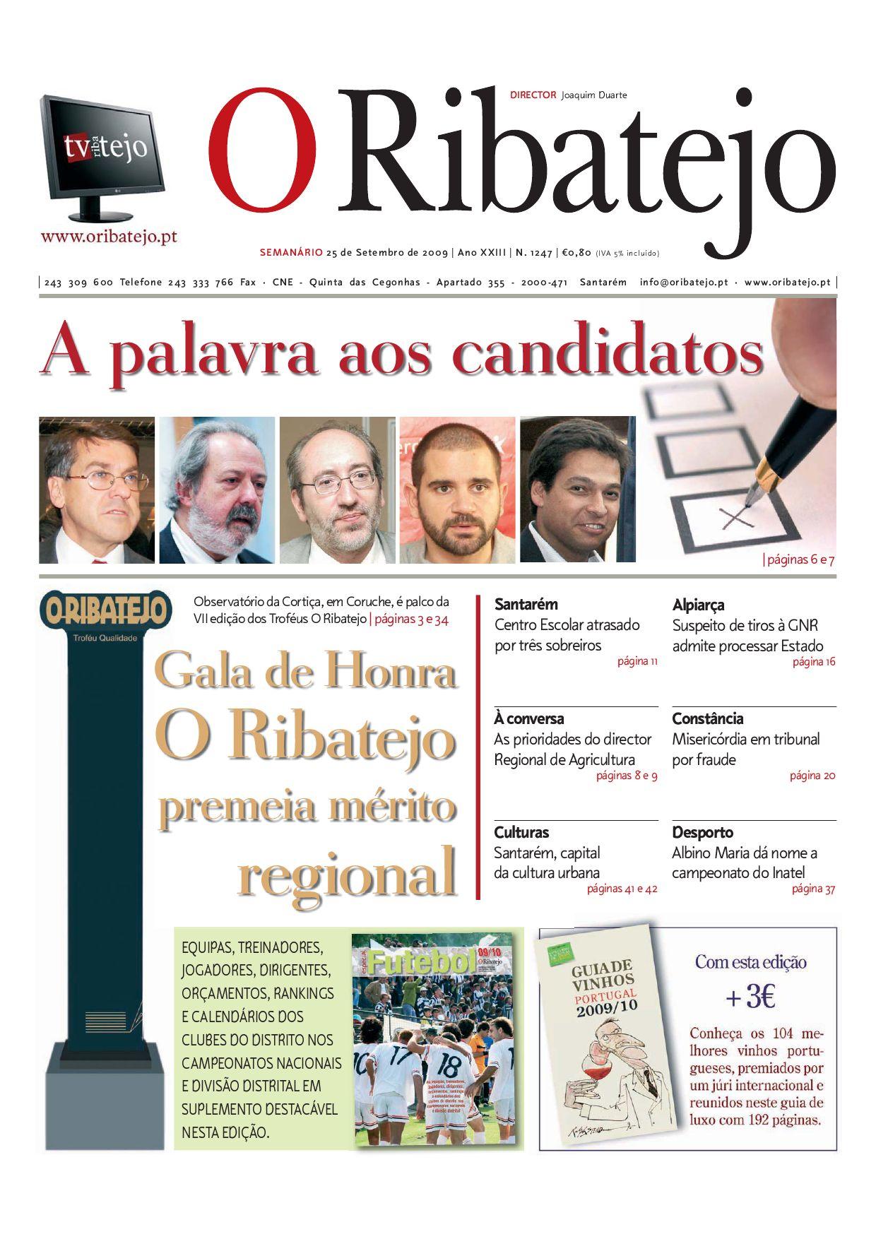 edição 1247 by Jornal O Ribatejo - issuu 67c497705ff25