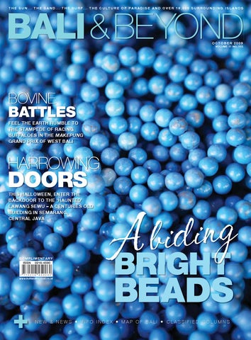 B&b mag october 2009 edition by bali & beyond magazine issuu