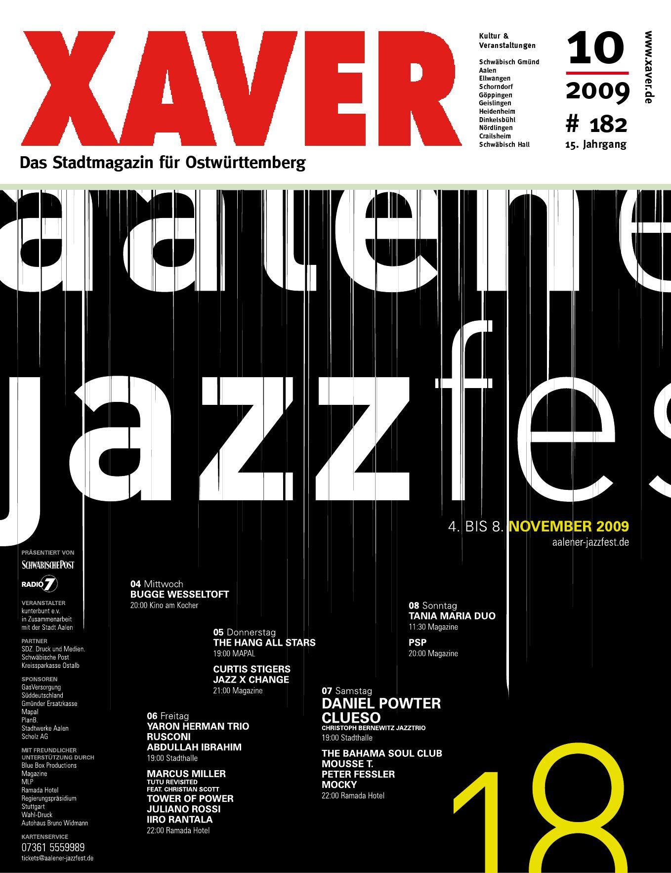 Xaver Oktober 09 By Hariolf Erhardt Issuu