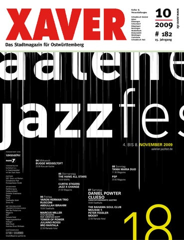 XAVER - Oktober \'09 by Hariolf Erhardt - issuu