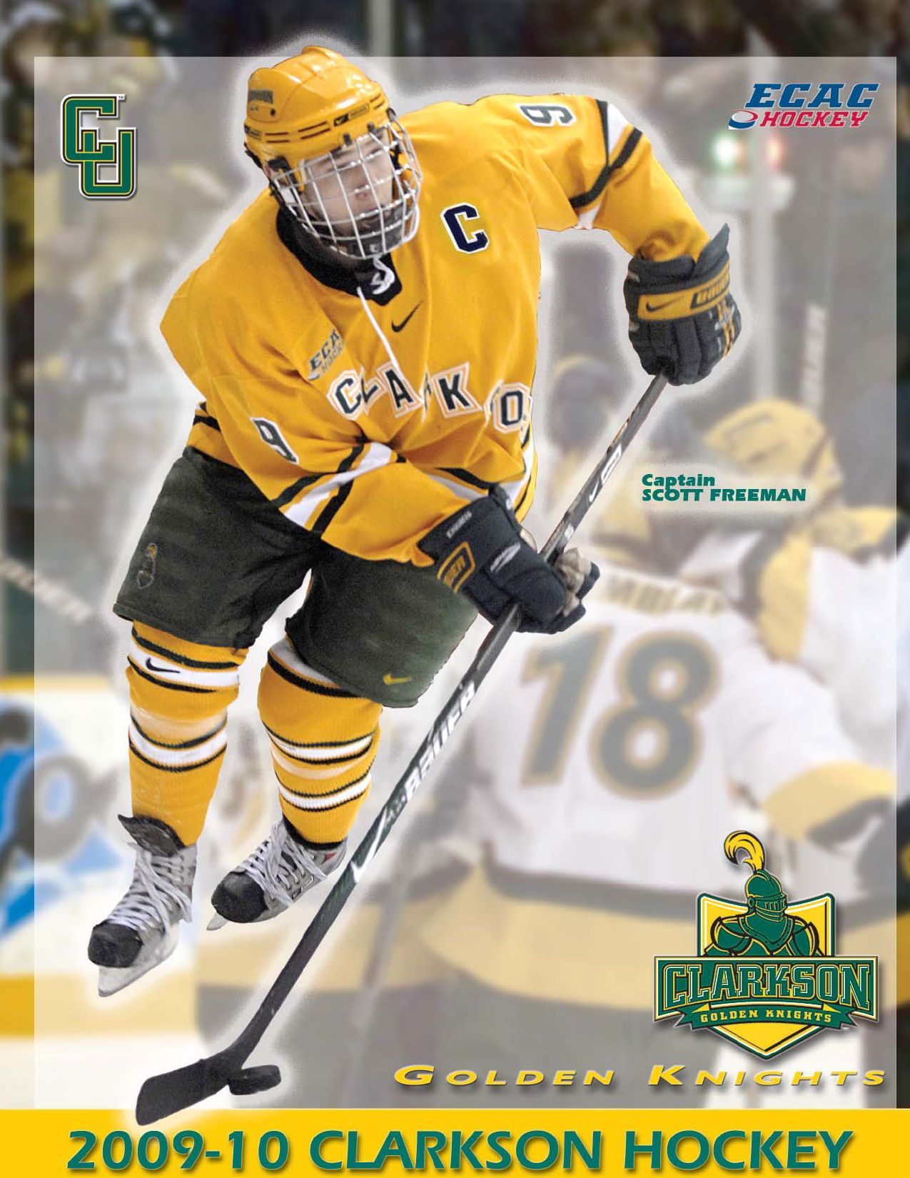 ad822740479 2009-10 Clarkson Men s Hockey Media Guide by Gary Mikel - issuu