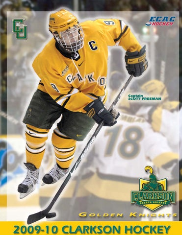 2009-10 Clarkson Men s Hockey Media Guide by Gary Mikel - issuu 6850b5e10