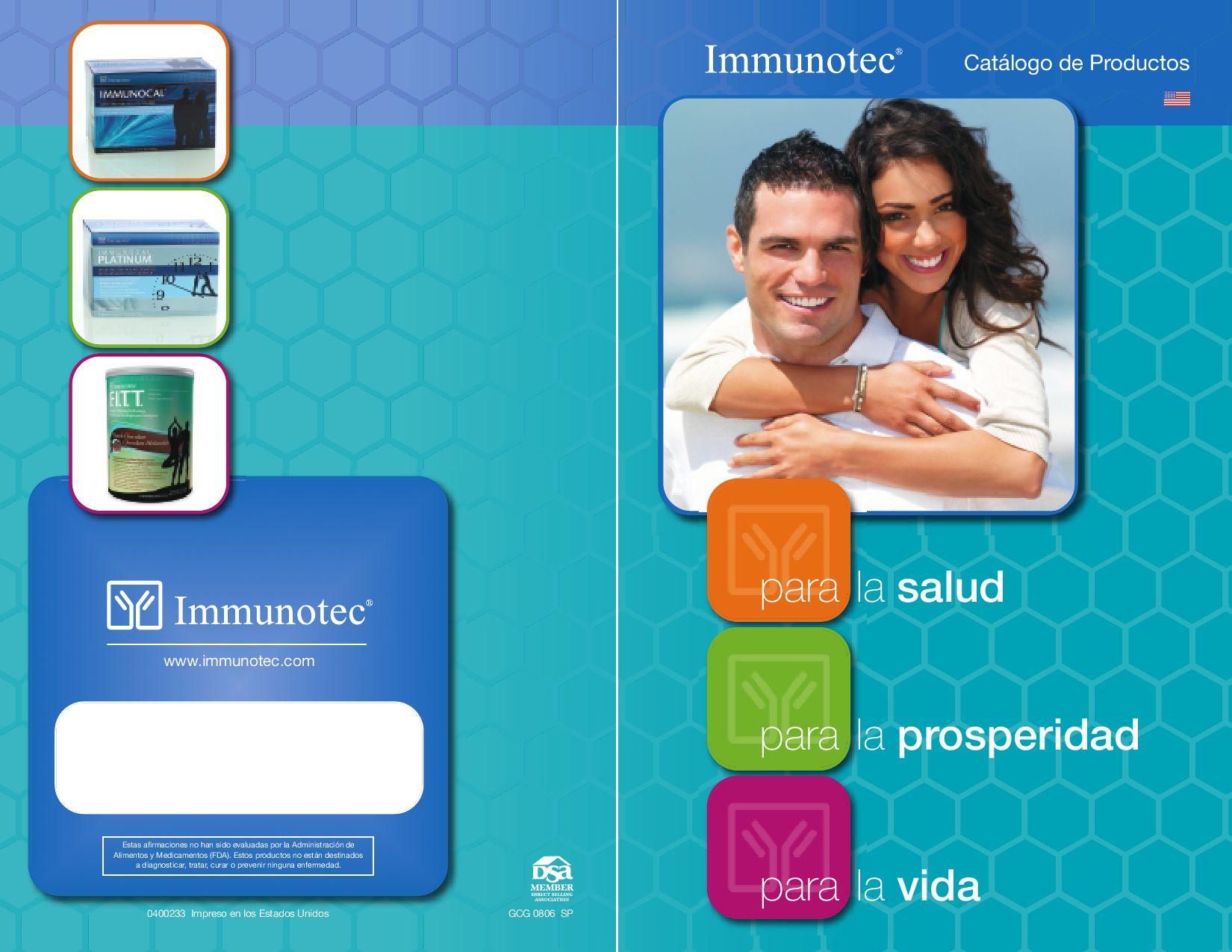 immunocal para cancer de prostata