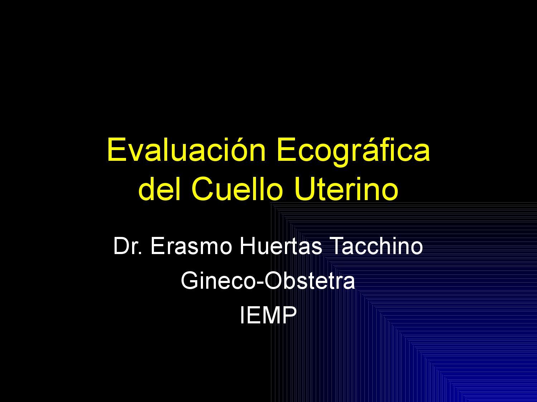 Evaluación Ecográfica del Cuello Uterino by DR. PPACH - issuu