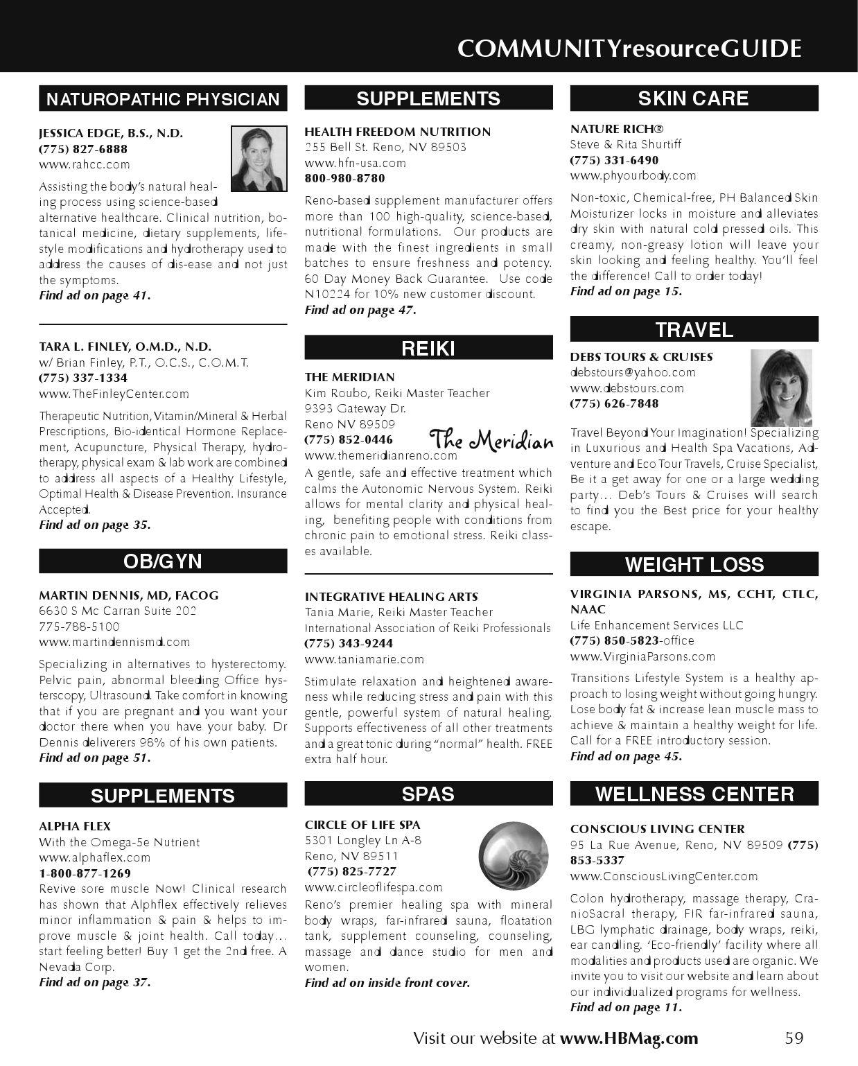 November 2007 HB Mag by Healthy Beginnings Magazine - issuu