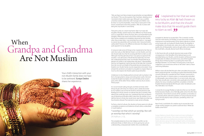 Sisters Magazine by Islamic Focus - issuu