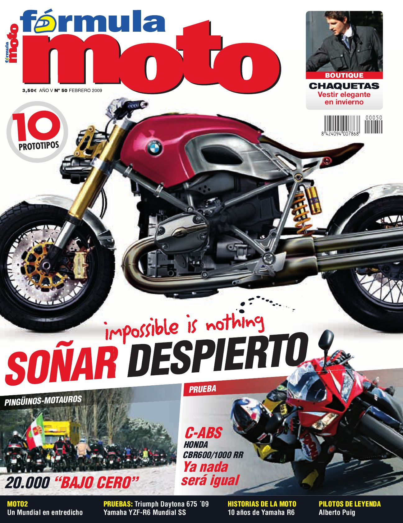 Mo bmw motos nº 43 Edición especial f 700 GS R 1200 GS egli-K 1100