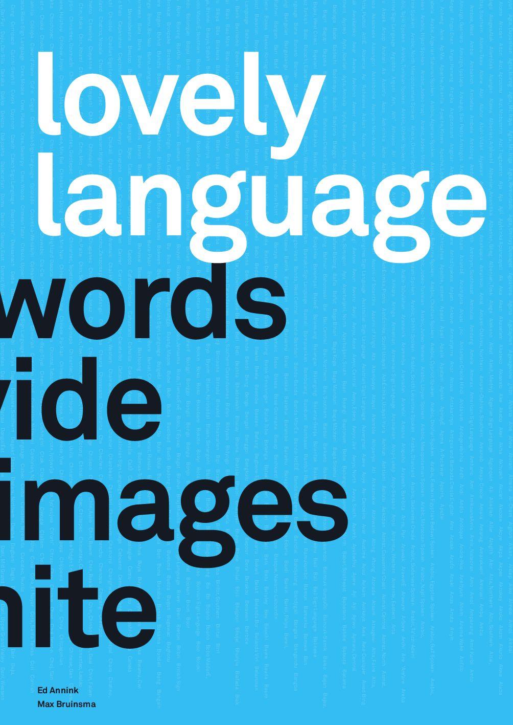 Lovely Language by Ontwerpwerk bv - issuu
