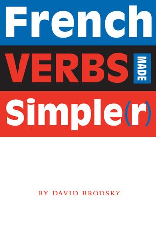French Verbes Made Simple R By Inkonu I Issuu
