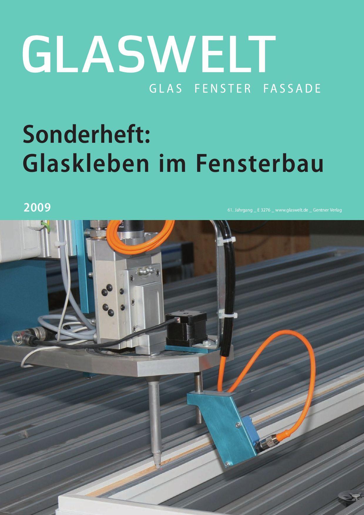 glaswelt sonderheft glaskleben by alfons w. gentner verlag gmbh & co