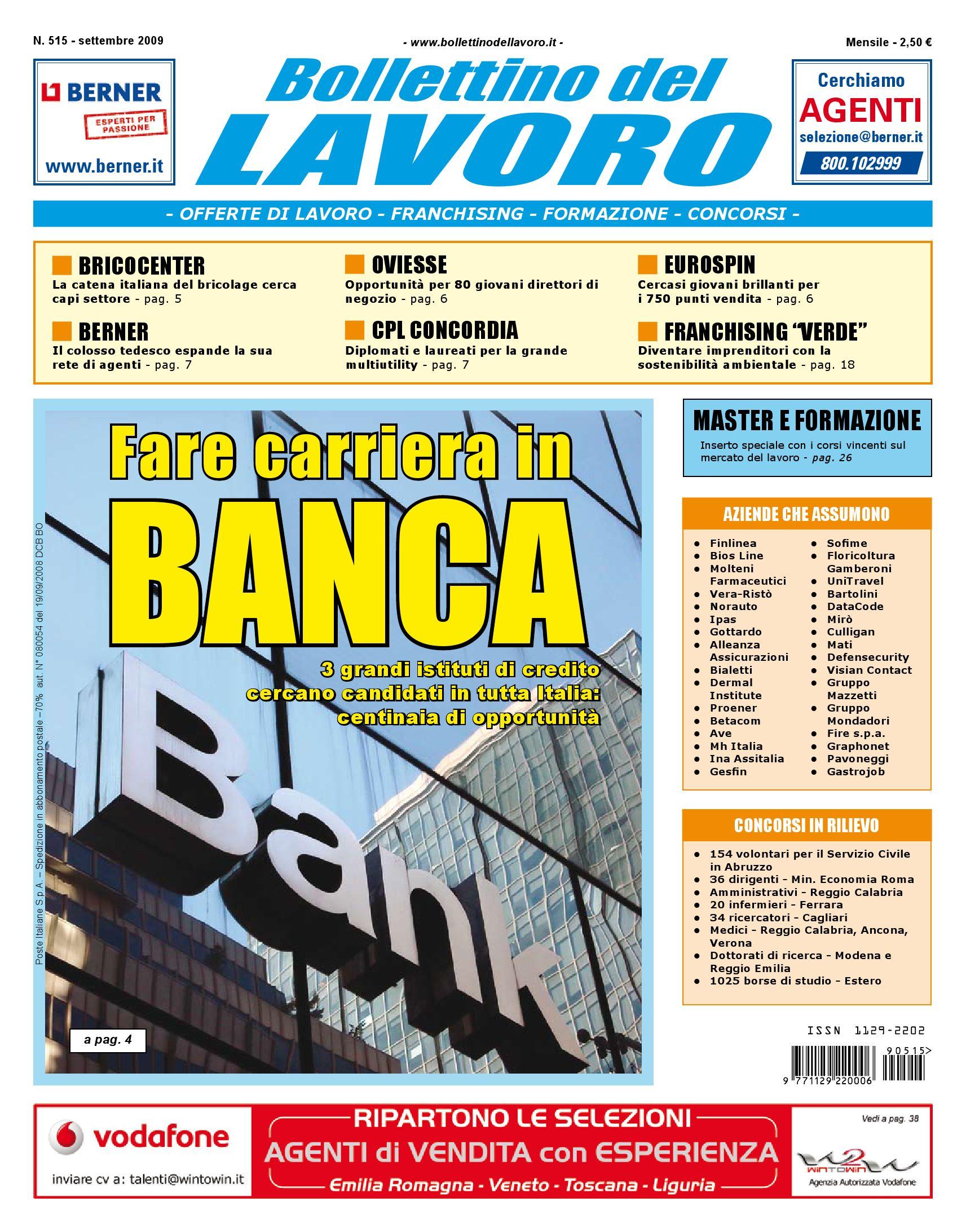 Bolllettino del Lavoro by Bollettino del Lavoro - issuu 323d7194712