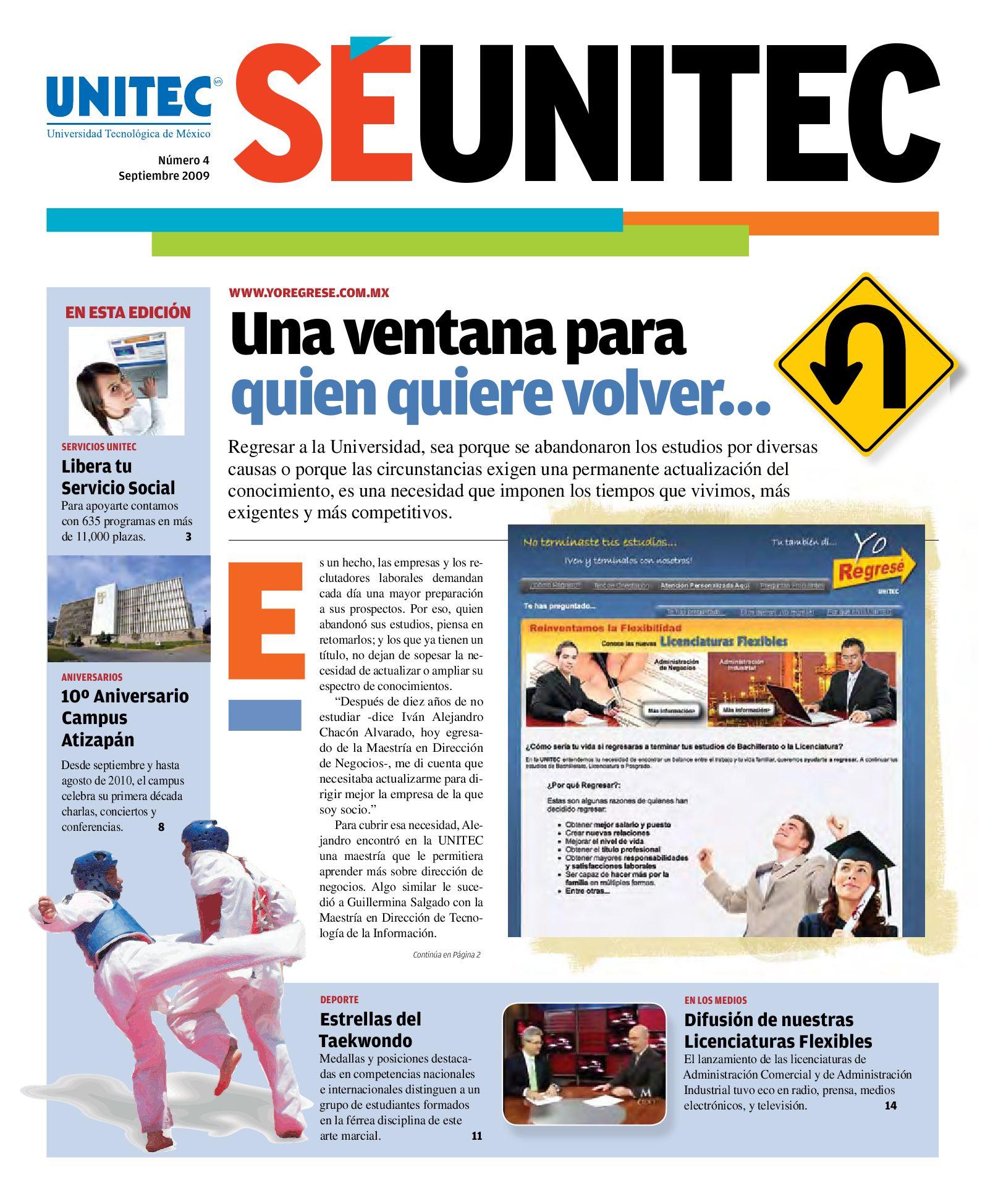 SÉ UNITEC 4 by Alejandro Espinosa - issuu