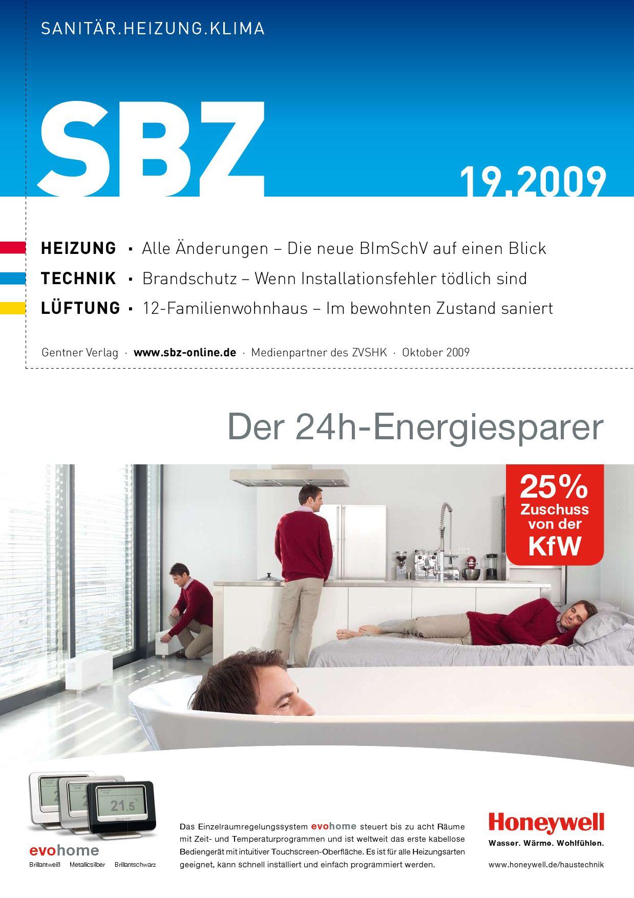 SBZ 19-2009 by Alfons W. Gentner Verlag GmbH & Co. KG - issuu