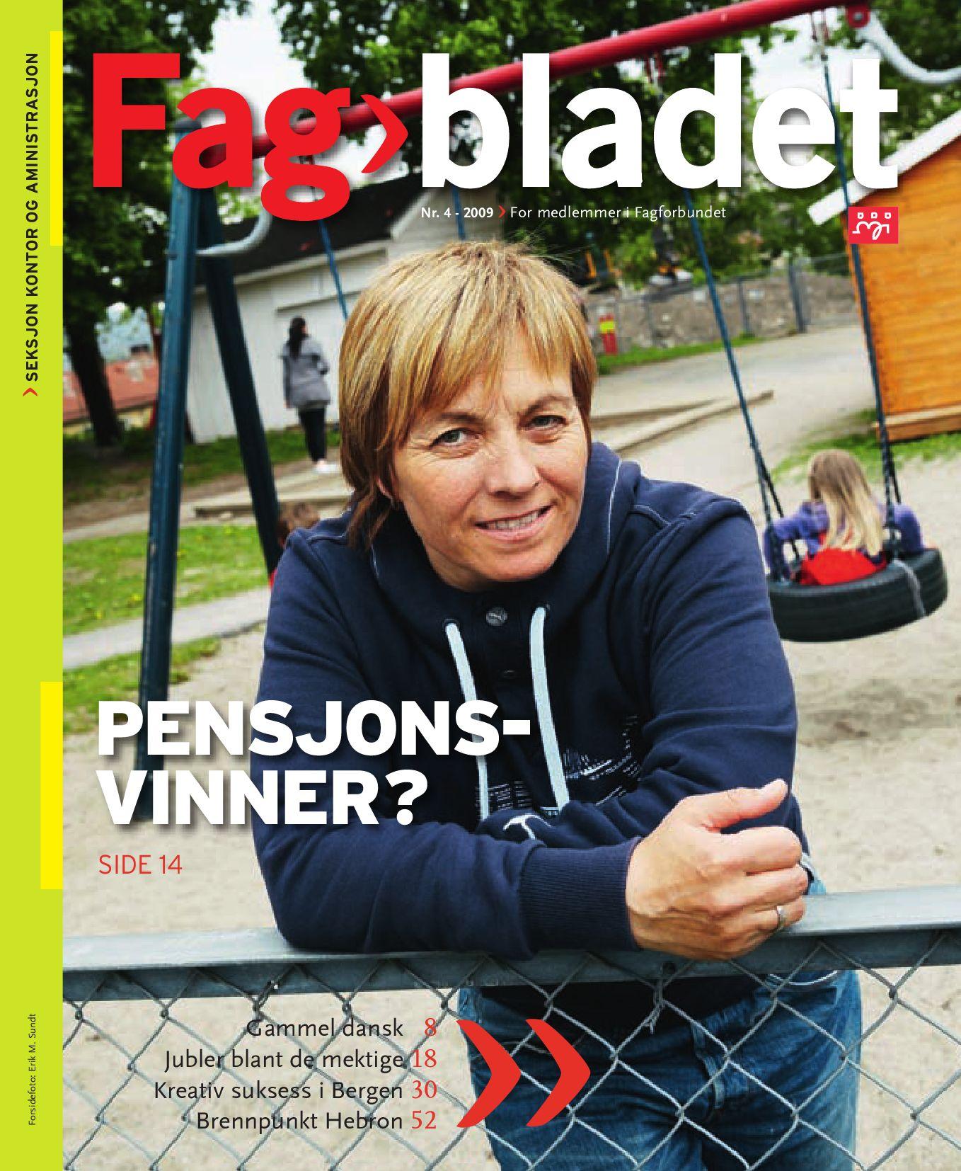 7312a05c6 Fagbladet 2009 04 - KON by Fagbladet - issuu