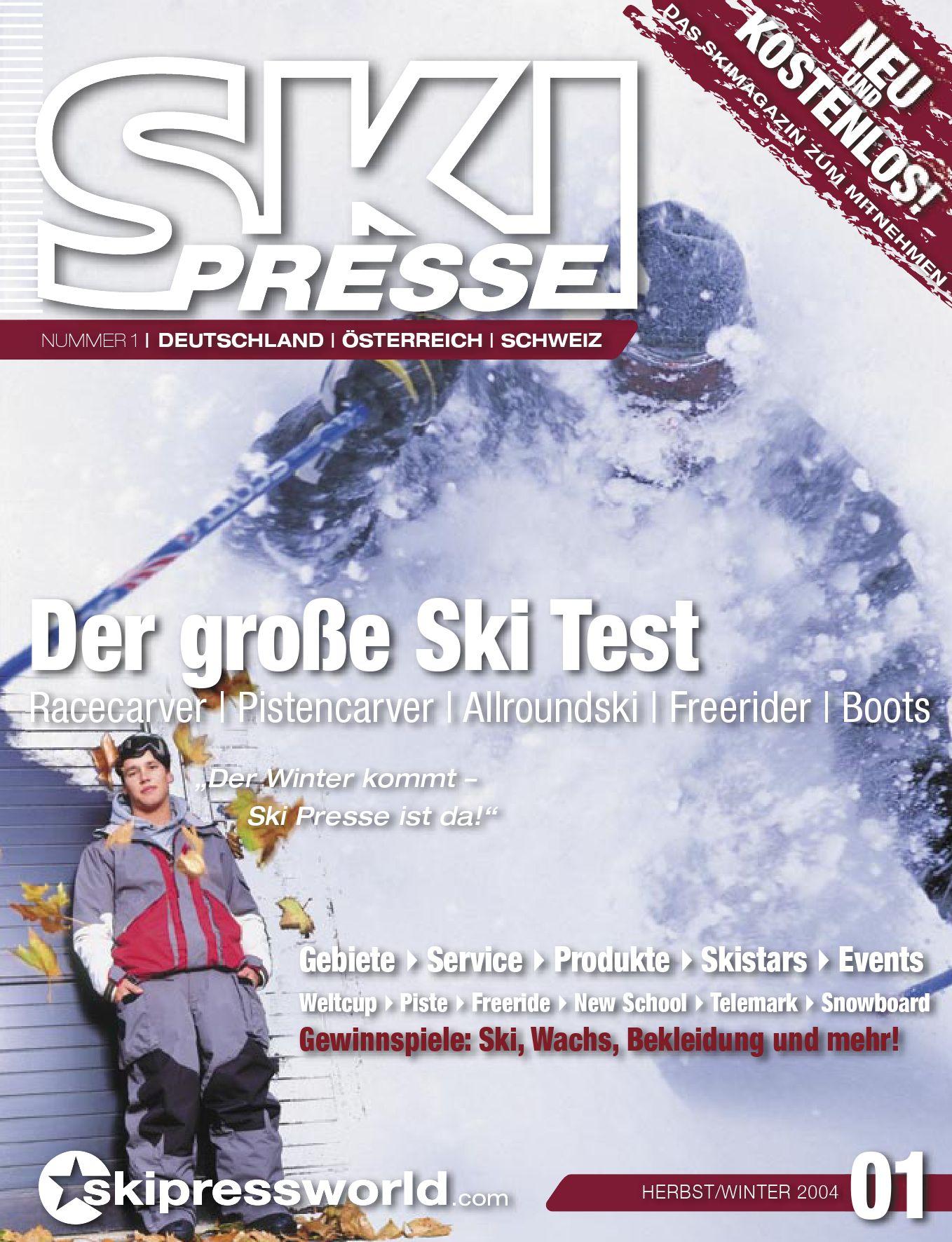 SkiPresse Nr. 1 by die denkbar Wolfgang Greiner issuu