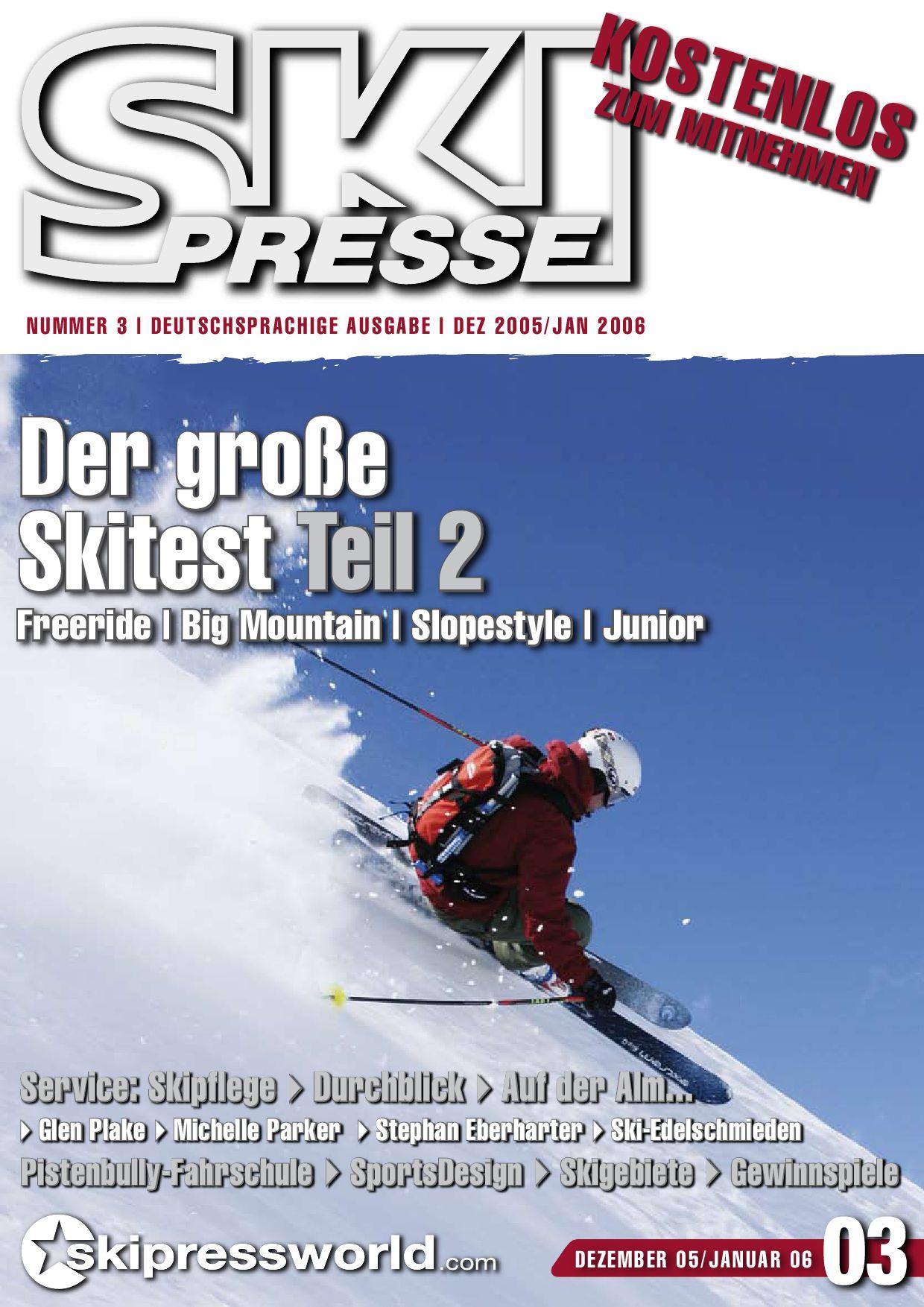 SkiPresse Nr. 3 by die denkbar Wolfgang Greiner issuu