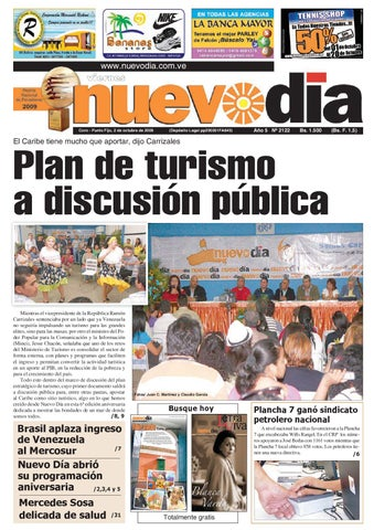 ec1a90a472ed Diario Nuevodia Viernes 02-10-2009 by Diario Nuevo Día - issuu
