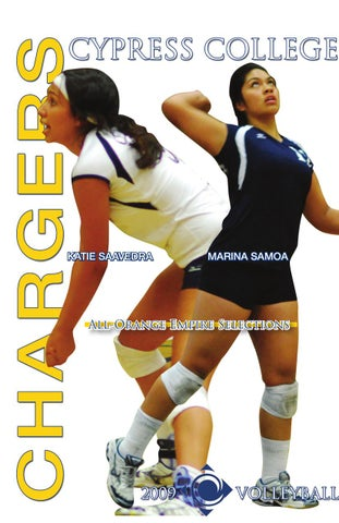 2009 Cypress College Women S Volleyball Media Guide By Cypress College Athletics Issuu