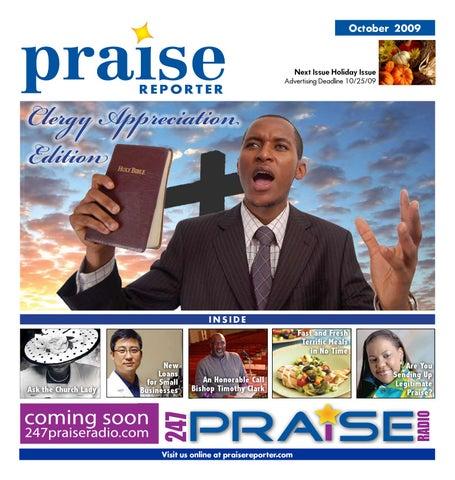 Praise Reporter October 2009 - Clergy Appreciation