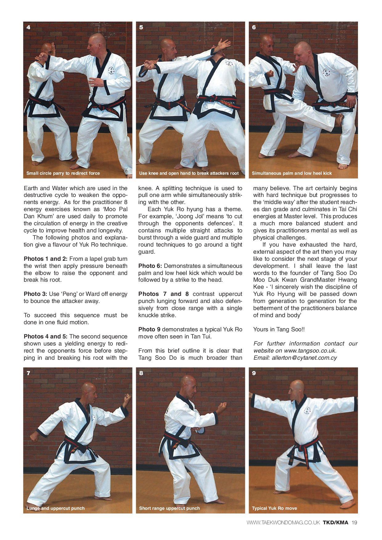 Taekwondo v12i12 by Martial Arts Publications Ltd - issuu