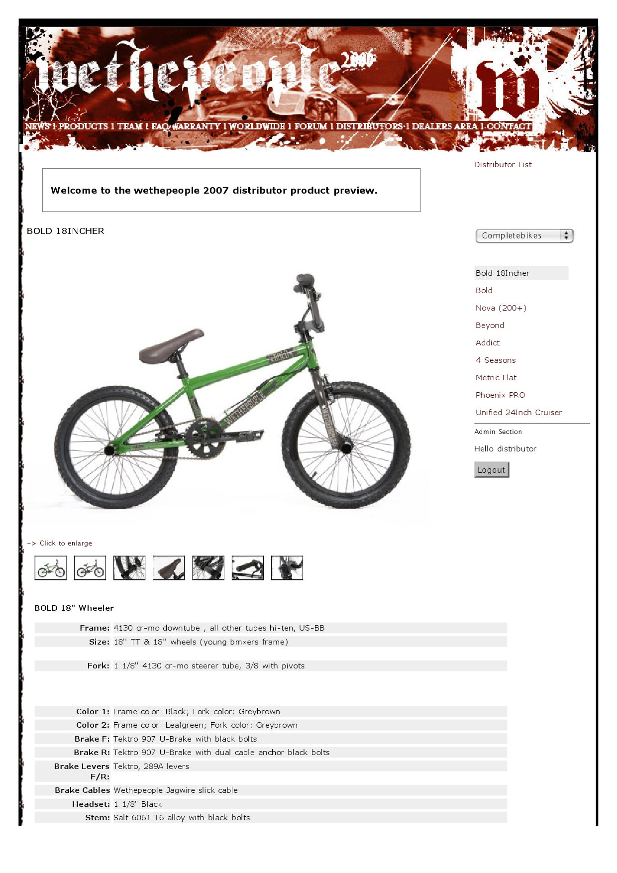 wethepeople bikes & parts catalog 2007 by We Make Things - issuu