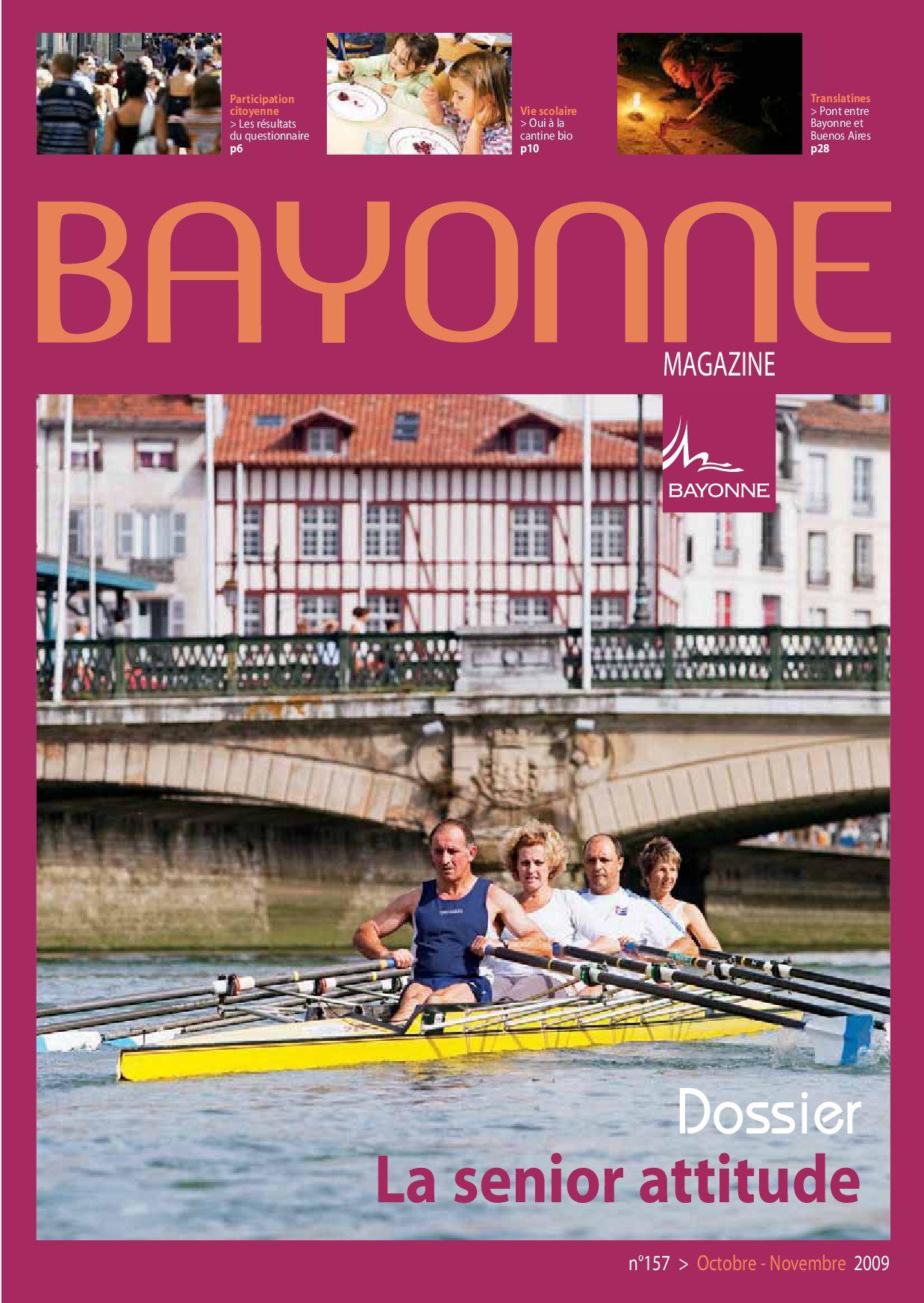 Bayonne Mag 157 sept oct 2009 by Bayonne issuu