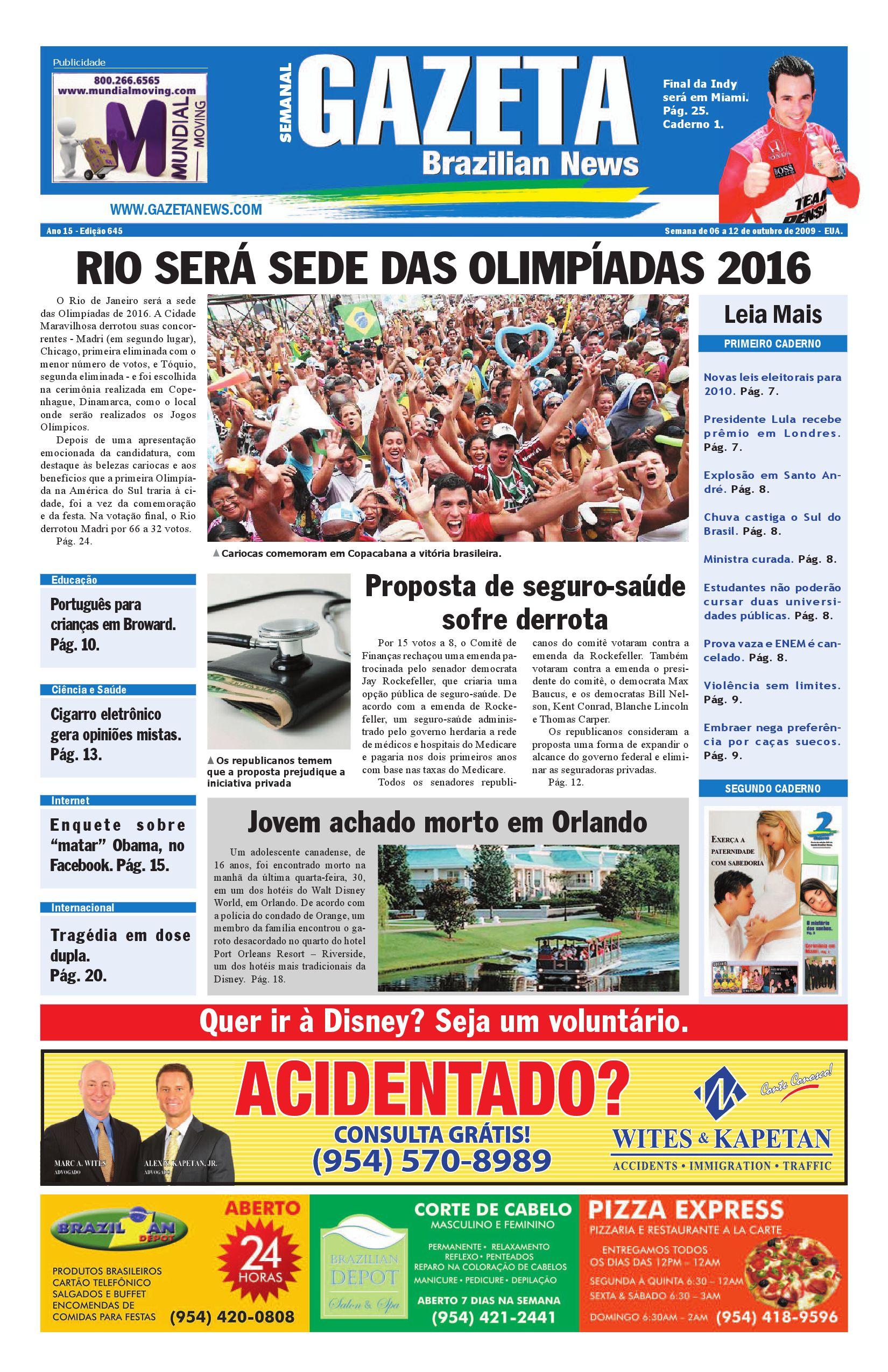 Alyce Perigosa edição 645gazeta brazilian news - issuu