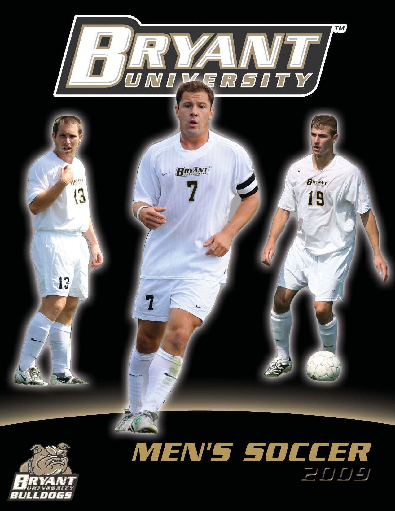wholesale dealer 98cd0 a457b 2009 Bryant University Men's Soccer Media Guide by Allie ...