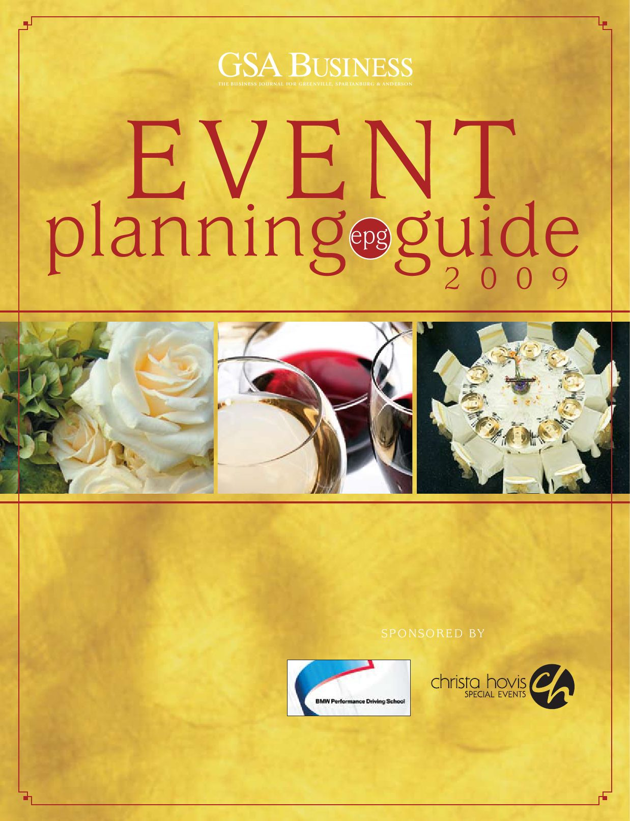 GSA Business 2009 Event Planning Guide by SC BIZ News issuu