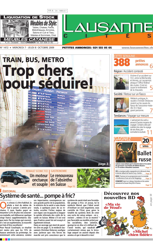 LC 08.10.09 by GHI   Lausanne Cités - issuu bc31759cf27e